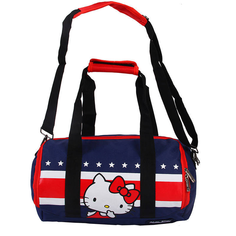f344dbdc5c45 Hello kitty Outdoor Polyester Sports Travelling Fitness Yoga Hiking  Training Swimming Shoulder Bags-in Swimming Bags from Sports   Entertainment  on ...