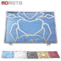 MT 09 FZ 09 MDMOTO Accessories CNC Motorcycle Radiator Guard Grill Grille Cover For Yamaha MT09