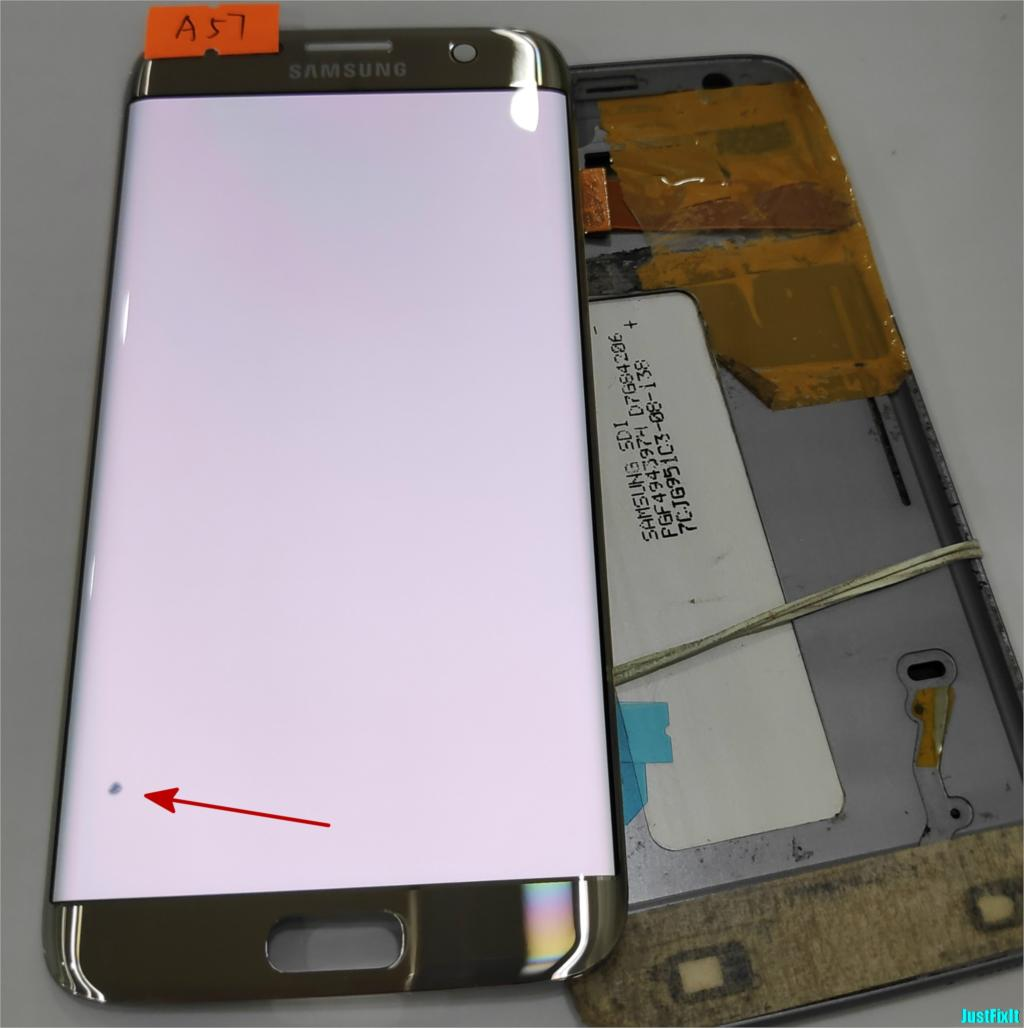 NO A57 for Samsung Galaxy S7 edge G935F G935A G935FD Defect lcd display with touch screen
