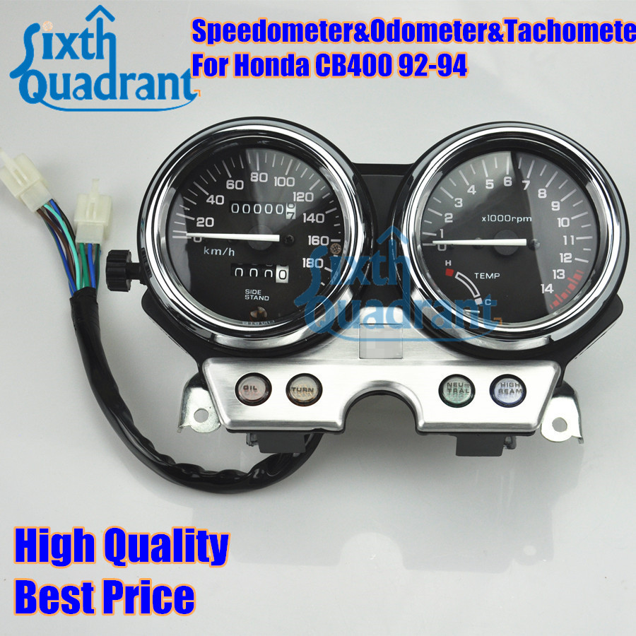Online Shop Free Shipping Motorcycle Speedometer Odometer Tachometer 1992 Honda Civic Gauges Cluster Instrument Assembly For Cb400 1993 1994 Aliexpress Mobile