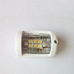 Image 1 - 12 V Marine Boot Jacht LED Navigatie Licht Wit Masthead Licht Boog Zeilen Signaal Lamp