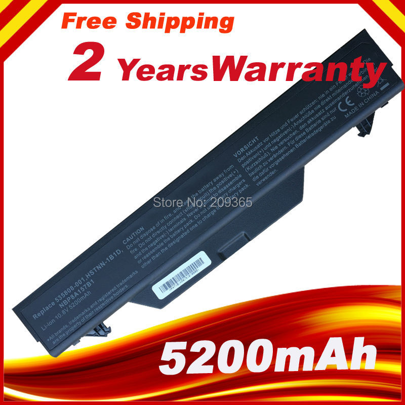 Laptop Battery 513129-361 513130-321 535808-001 For HP ProBook 4510s 4510s/CT 4515s 4515s/CT 4520s 4710s 4710s/CT 4720s