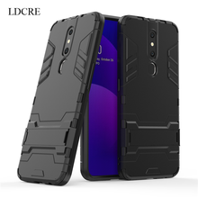 For OPPO F11 Pro Case Luxury Robot Hard Coque Fundas Back Phone Case For OPPO F11 Pro Back Cover For OPPO F11 Pro Case швабра topoto f11