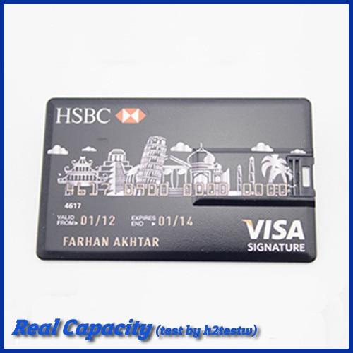 free shipping retail pen driver 4gb 8gb 16gb 32gb usb drive plastic pendrive VISA credit card usb flash drive