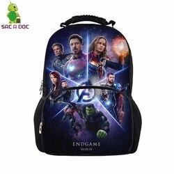 Avengers 17 Cal panie Plecak Student szkoła torby dla nastoletnich torba podróżna Unisex plecaki Plecak Szkolny Mochila Notebook 5