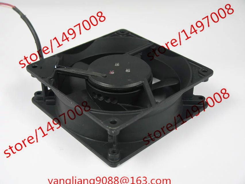 Free Shipping ebmpapst W2G110-AM39-23 DC 12V 5.3W 3-wire 45mm 120x120x38mm Server Square Cooling Fan антенна wi fi ubiquiti am 5ac22 45 am 5ac22 45