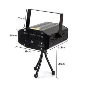 Image 5 - LED レーザープロジェクターディスコライト自動フラッシュ RG サウンド活性レーザーランプリモート DJ ディスコパーティー Soundlights クリスマスステージライト