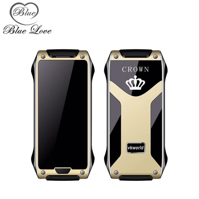 Предпродажная VKWorld Корона V8 Телефон Металлический Каркас 4.9 мм сотовый телефон