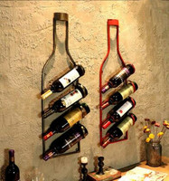 New arrivel European Rose Golden Iron Electroplate Folding Red Wine Rack Fove Bottle Holder and Fove Cup holder