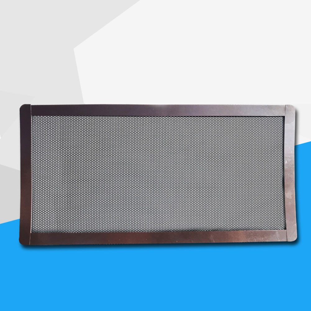 PC Noise Reduction Chassis Cooling Home Computer Mesh Fan Cover Replacement Dust Filter Net Guard Dustproof Magnetic PVC