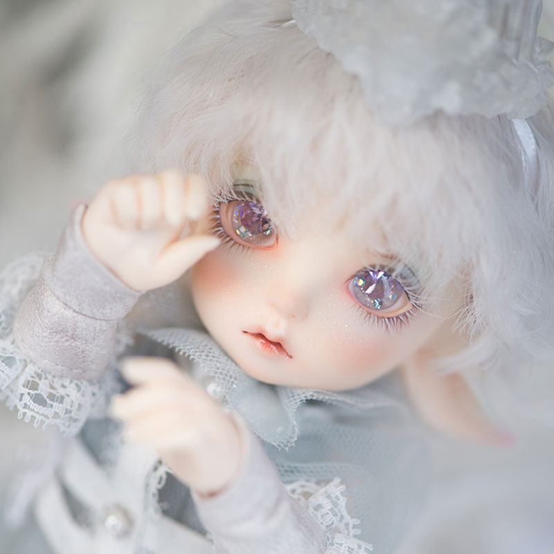 Realfee Luna 19cm Fairyland bjd sd doll 1/7 body model reborn High Quality toys makeup shop ShugoFairy wigs volks Mini doll 1pcs bjd sd doll wigs accessories 15cm
