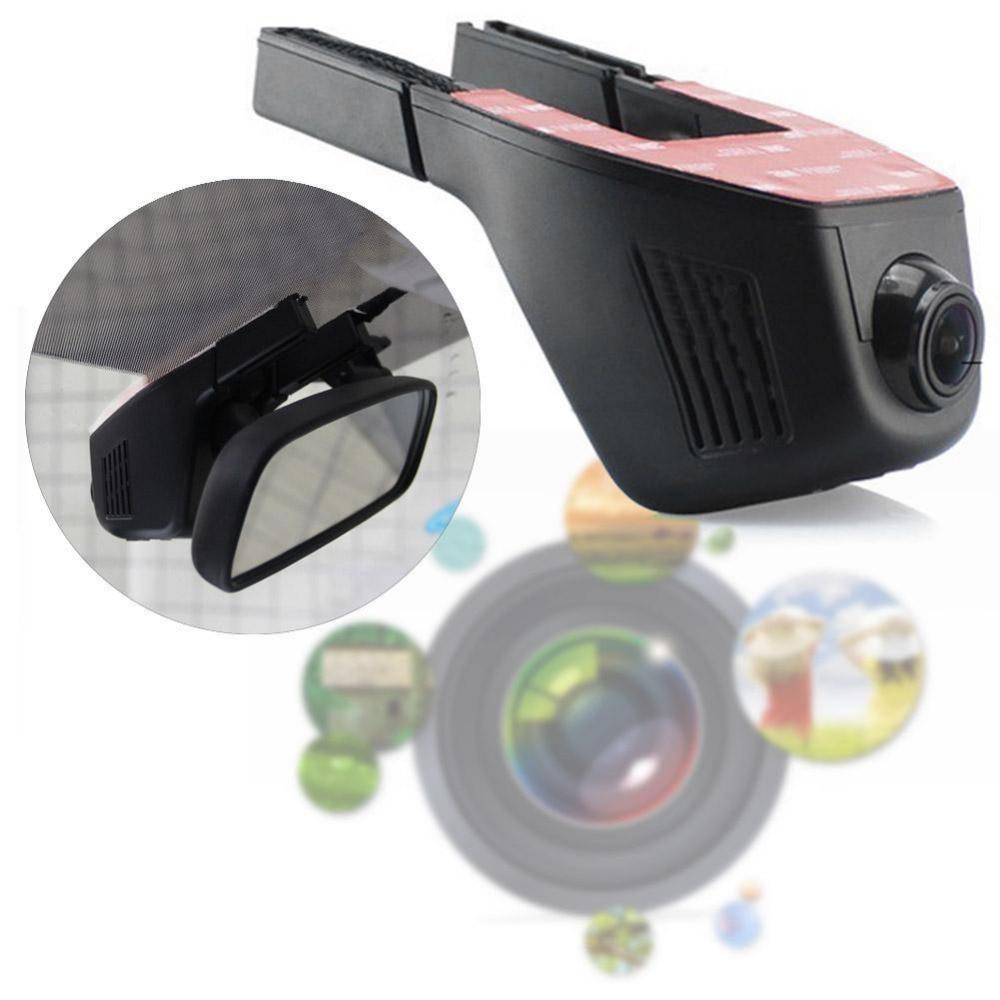 Caché Super FHD 1080 P Voiture DVR Dash Cam vision Nocturne voiture Caméra Noir Pour Novatek 96658 Puce Pour Sony IMX322 capteur