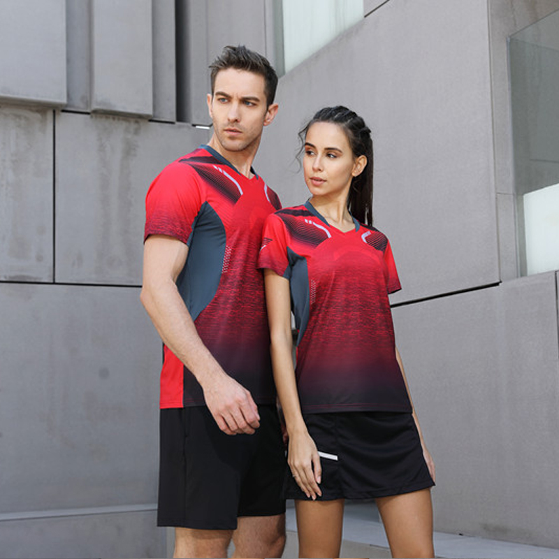 8af4d6bc Golf Shirts Sports Series Wicking Breathable Clothing Polo T Shirt Men's/women  Jerseys Badminton Sportwear Clothes Tennis Shirt