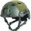 Militar do exército Tactical Capacete Capa Acessórios de Casco Capacete Airsoft Paintball Emerson Salto Rápido Capacete Máscara Protetora