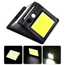 led solar light outdoor Sensor Night Light 48 LED Rechargeable 3 Lighting Modes for Yard waterproof