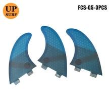 quillas fcs surfboard fins G5 fins surf fcs Honeycomb Fibreglass surfboard-fins 3 pieces per set цена и фото