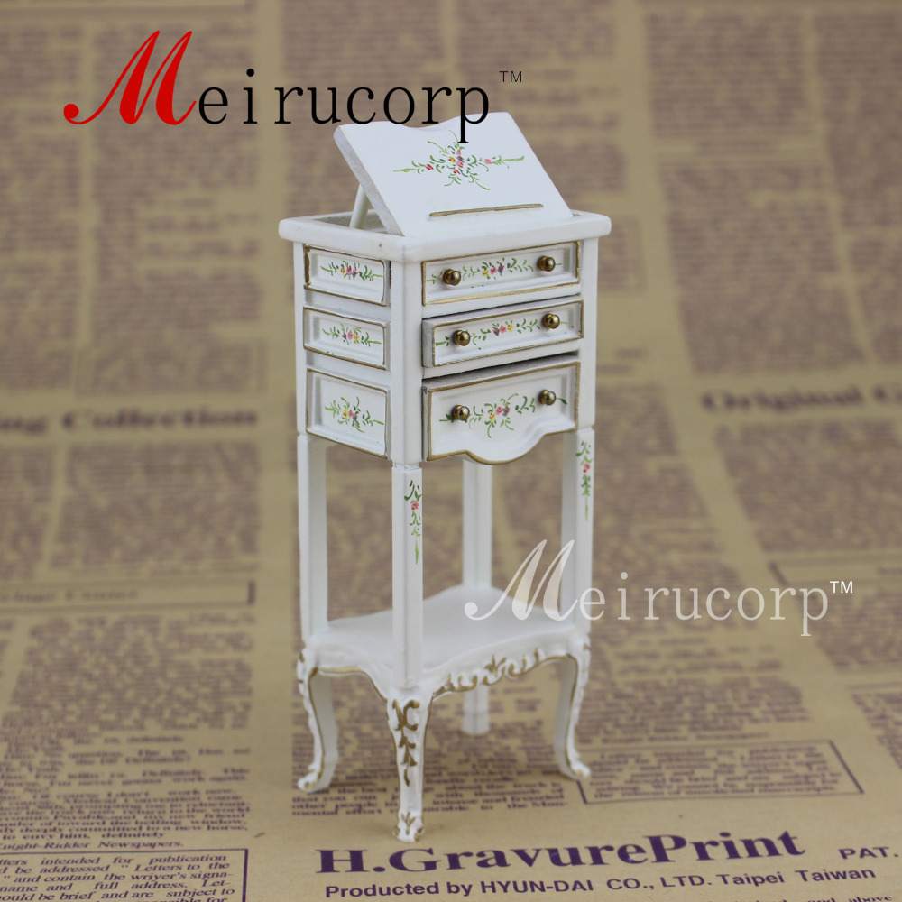 classical Hand painted Display stand Fine 1:12 dollhouse miniature furniture
