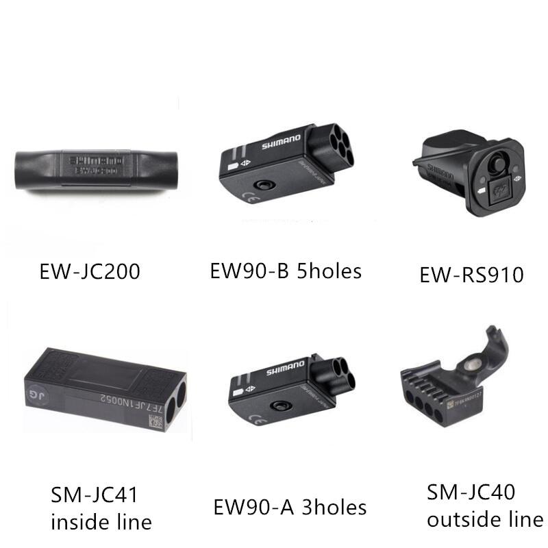 Shimano DI2 EW90A EW90B EW-RS910 EW-JC200 SM-JC41 SM-JC40 Connector Speed Change Adjuster Junction For Dura Ace Ultegra запчасть shimano электропровод di2 ew sd50 для ultegra di2 400 мм