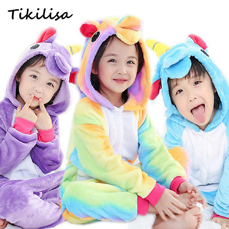 557919831 Detail Feedback Questions about Flannel Pijamas Kids Cosplay Cartoon ...