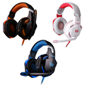 Each g2000 com caixa de varejo jogo surround gaming headset estéreo headphone gaming fone de ouvido com microfone para computador graves profundos