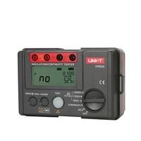 UNI T UT502A Insulation Resistance Tester 2500V Digital Megohmmeter High Voltage / Overload Indicator LCD Backlight