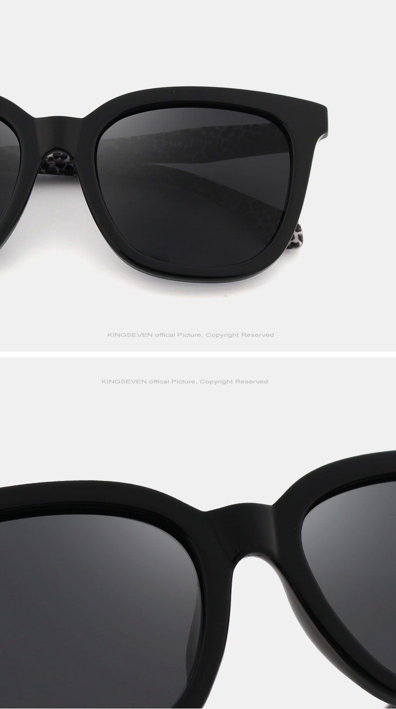 KINGSEVEN Vintage Style Sunglasses Women Brand Designer Shades Polarized Lens Sun Glasses Fashion Sunglasses Oculos De N7810 9