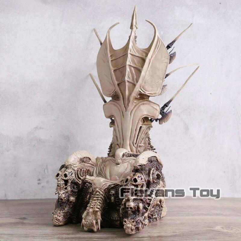 Predator Throne Diorama Element Clan Leader Throne PVC Figure Statue Collection Model Toy Birthday Gift плед throne 150х200cm 103 1 2885345