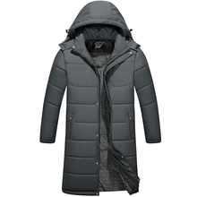 2018 The North Winter Jacket Men Hooded Coats Mens Thick Coat Male Casual Cotton Padded Down