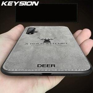 Чехол для телефона KEYSION, для Huawei Honor 20 20 Pro 10 10i, тканевый мягкий чехол в стиле ретро для Huawei Honor 20 Lite V20 V10