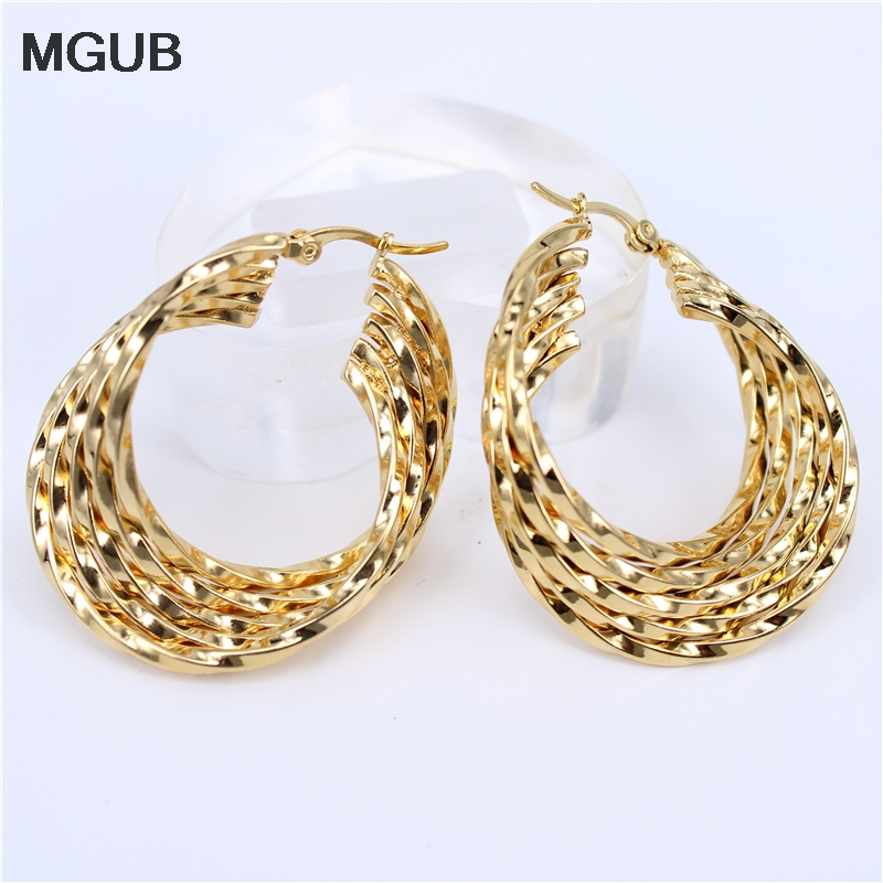 MGUB 3 Select 5th floor Stainless Steel Jewelry Earrings excellent merchandise fashion female jewelry hot LH190