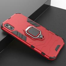 360 Finger Ring Magnet Case Cover  For iPhone X 7 8 Magnetic Car XS MAX XR Plus 6 6s Armor Shockproof