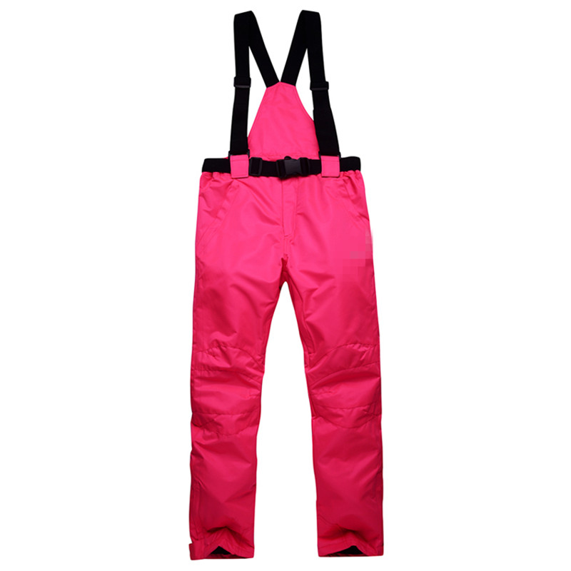 Detector -35 degree snow pants  elastic waist lady trousers winter skating pants skiing outdoor ski pants for women snowy owl
