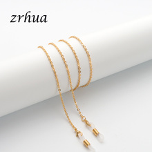 ZRHUA Hot O Chian Sunglasses Cord Patches High-Quality Trendy Metal Eye Chain Sunglasses Anti-skid G