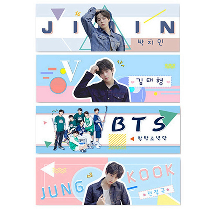 K-pop Wanna One BTS Love Yourself Tear Concert Support Hand Fabric Banner Hang Up Stationery Supply ...