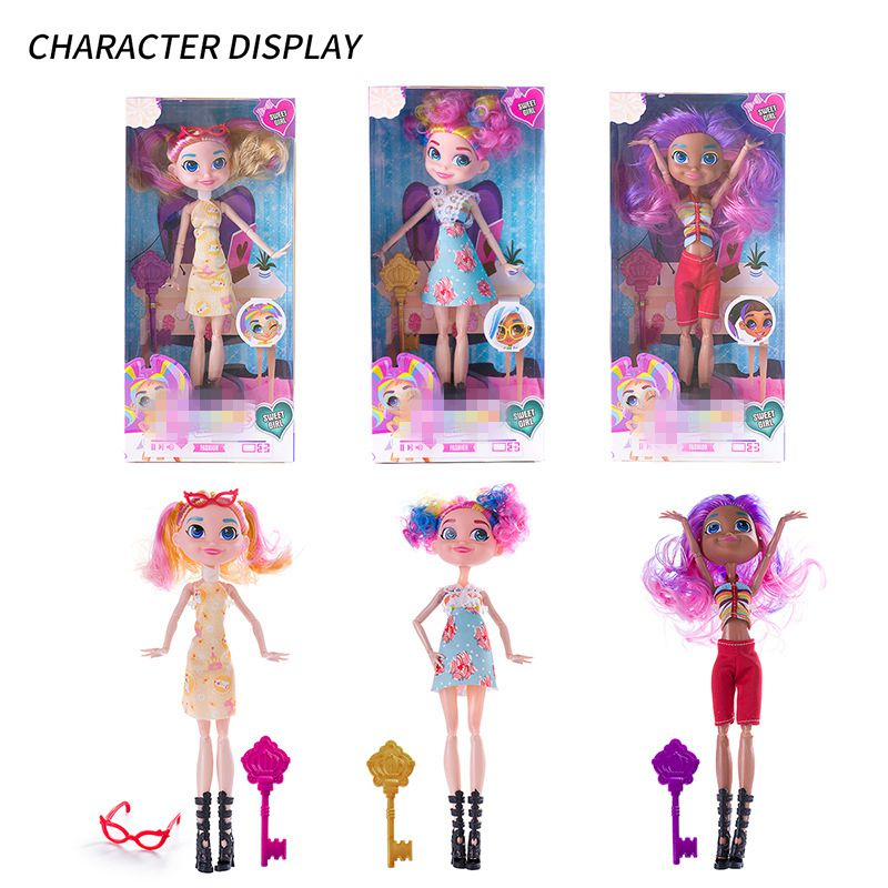 Hairdorables Doll Figure Child Girl Changeable Hairstyle Long Hair Doll Children Educational Dolls Surprised GiftHairdorables Doll Figure Child Girl Changeable Hairstyle Long Hair Doll Children Educational Dolls Surprised Gift
