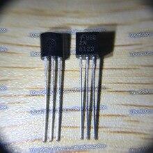 100 шт./лот 2N4123 TO-92 NPN транзистор 30 В 0.2A