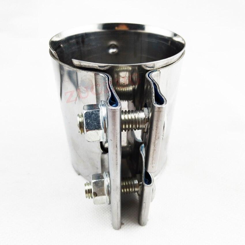 échappement manchon Adaptateur réducteur échappement connecteur Acier Inoxydable 45mm à 55mm