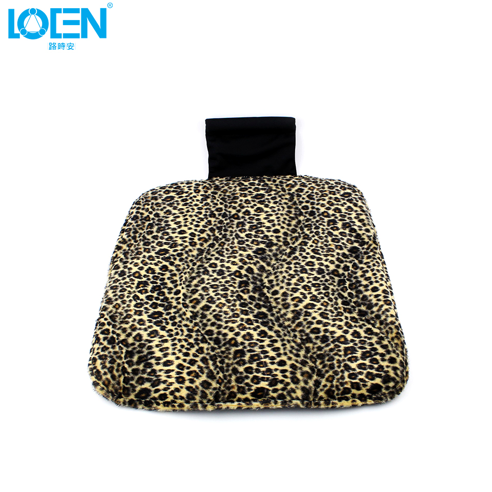 popular padded bench cushionsbuy cheap padded bench cushions lots  - plush nonslip car cushion pad keep warm leopard front rear bench car seatcover