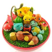 Japanese Anime XY pokeball Eevee Squirtle pikachu Bulbasaur charizard Monster Action Figures Christmas Collection Pocket Toys grafalex xy 201