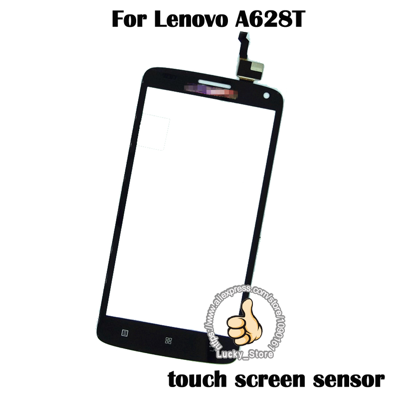 black white touch panel for lenovo a628t touch screen digitizer glass sensor panel no lcd