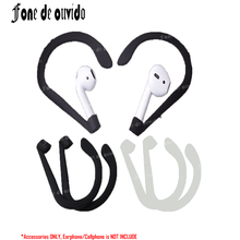 Anti-lost Strap Earbuds Earphone Holder for Apple iPhone X 8 7 6 Plus 5 SE Airpods Headphone Sport Ear Wings Hook Cap Earhook