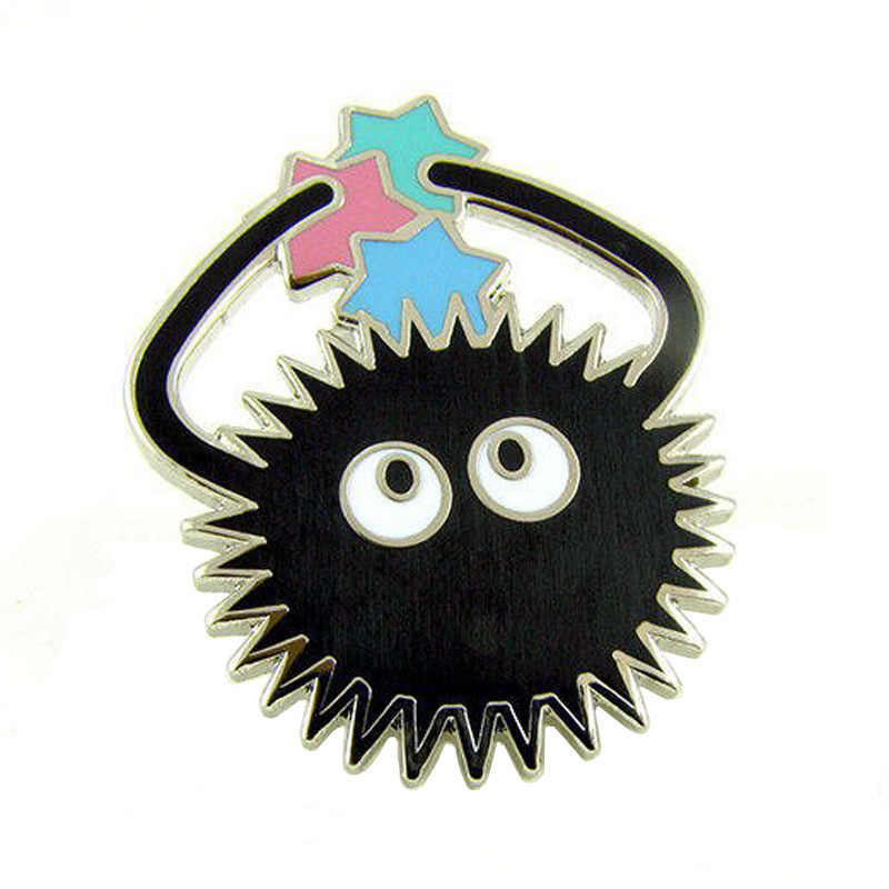 Spirited Away Soot Sprite Enamel Lapel Pin