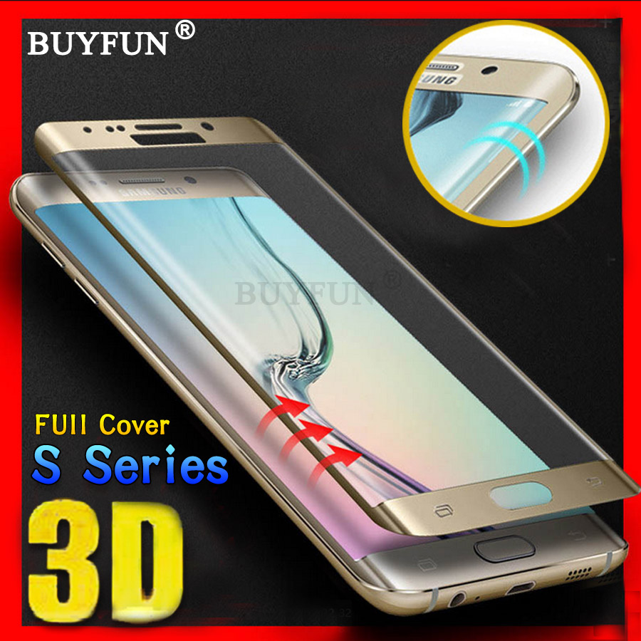 S7 Edge For Samsung Galaxy S8 S7 S6 Edge Glas Tempered Glas For Samsung Galaxy S 8 S 6 S 7 Edge Glas Screen Protector Full Cover