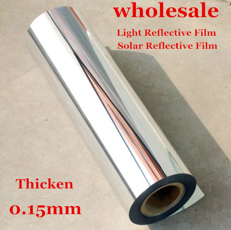 50cmx2m Solar Light Reflective Film Stickers Wallpaper