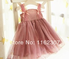 Livraison gratuite Summer girl robe de fête d'anniversaire hot vente fille enfants robe fille robe priness
