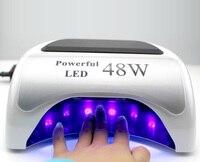 Оригинальный 48 Вт ЖК дисплей Экран Мощный светодиодный CCFL ногтей лампа 22B для гель лак для ногтей Cure очень быстро Pro УФ сушилка для ногтей 10 s