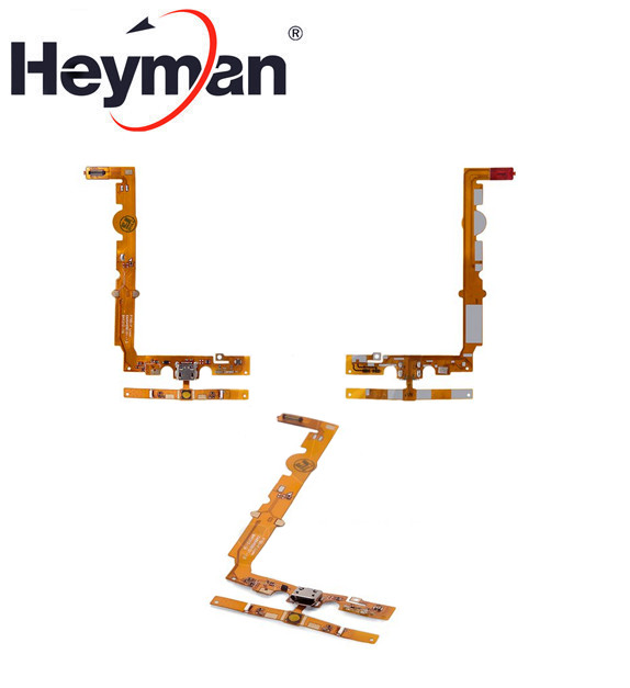 Heyman Flex Cable USB Charging Dock For LG P700 Optimus L7 P705(charge Connector Menu Button With Microphone With Components)
