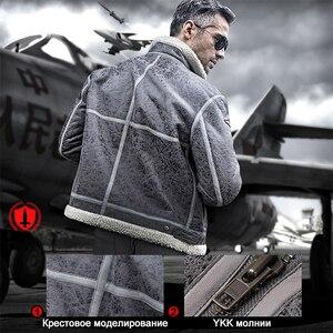 Image 4 - سترة عسكرية بنمط عسكري تكتيكي رياضية خارجية مجانية للرجال سترة الطيار من القماش للتخييم أو التنزه مقاس كبير