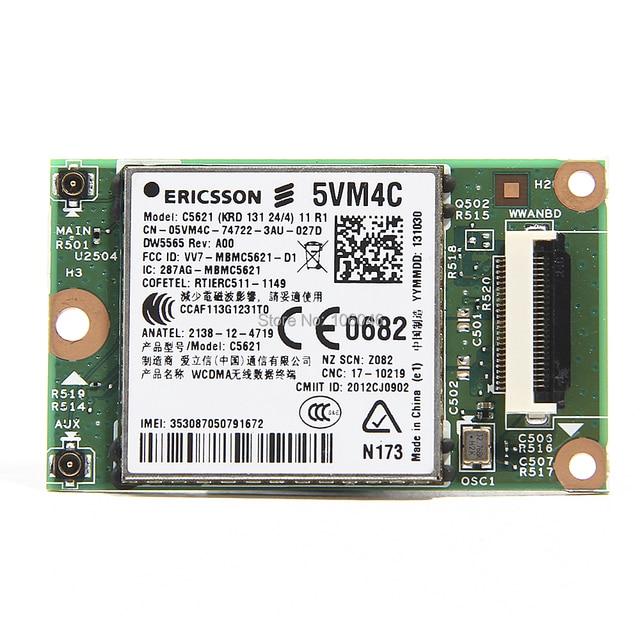 Brand New ERICSSON C5621 DW5565 5VM4C sem fio 3 G placa WWAN HSPA / WCDMA GPRS / EDGE módulo frete grátis