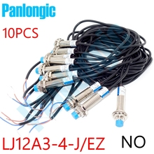 10pcs LJ12A3-4-J/EZ 2-wires NO Normal Open 4mm Detection Proximity Sensor AC 90~250V Inductive Switch